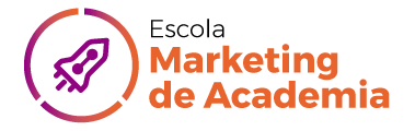 Logo Escola Marketing de Academia